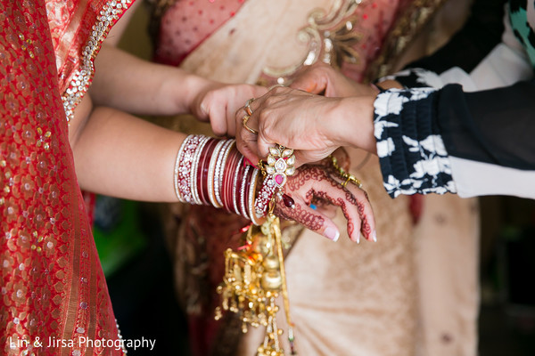 Getting Ready in Newport Beach, CA Indian Wedding by Lin & Jirsa Photography