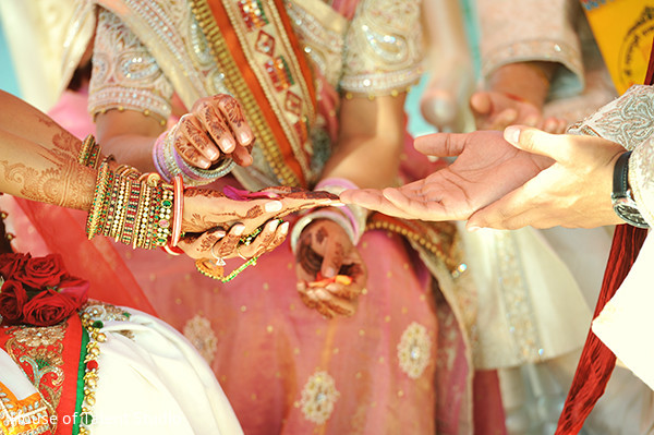 Ceremony in Mahwah, NJ Indian Wedding by House of Talent Studio