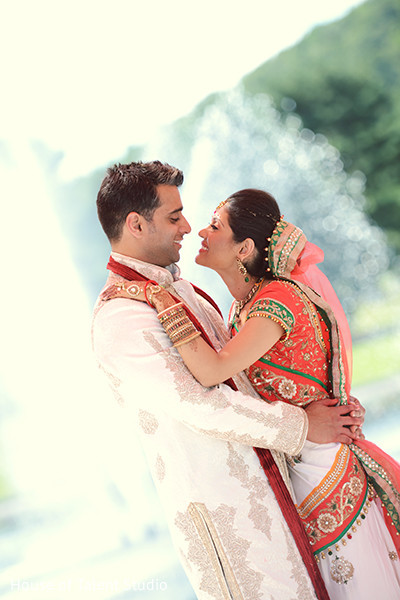 Wedding portraits in Mahwah, NJ Indian Wedding by House of Talent Studio
