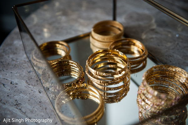 Bridal jewelry in Long Island, NY Indian Wedding by Ajit Singh Photography