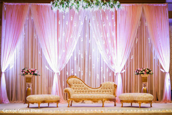 Floral & Decor in Fairfax, VA Indian Wedding by George Street Photo