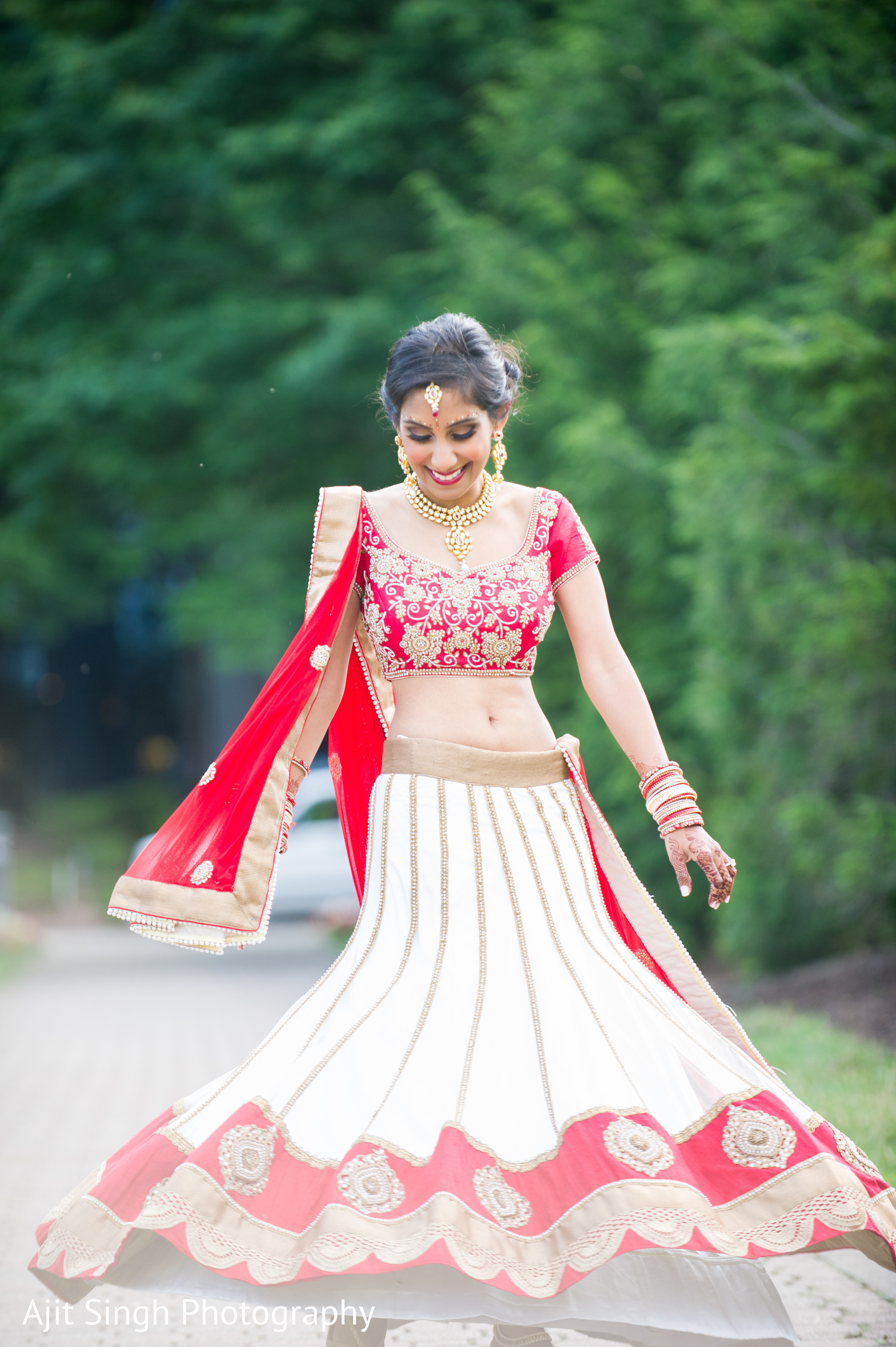 Portraits In Mahwah NJ Indian Wedding By Ajit Singh Photography