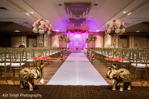Ceremony in Mahwah, NJ Indian Wedding by Ajit Singh Photography