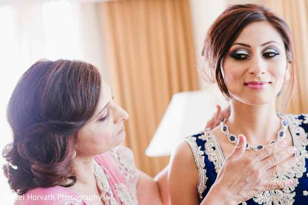 Getting ready in Newport Beach, CA Indian Wedding by Matei Horvath Photography