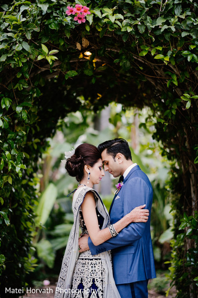 Reception portraits in Newport Beach, CA Indian Wedding by Matei Horvath Photography