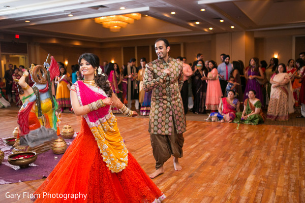 Garba in Mahwah, NJ Indian Wedding by Gary Flom Photography