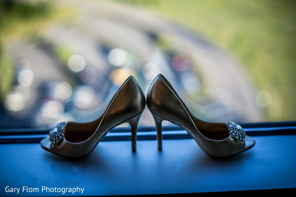 Shoes in Mahwah, NJ Indian Wedding by Gary Flom Photography