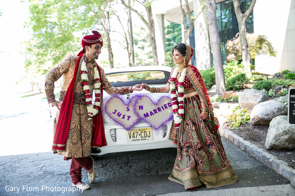 Ceremony in Mahwah, NJ Indian Wedding by Gary Flom Photography