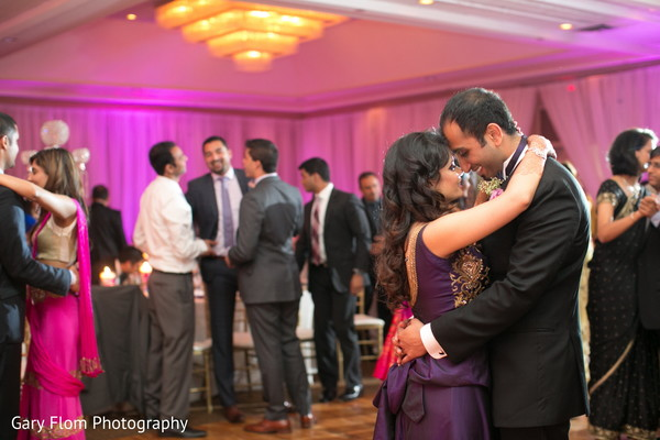 Reception in Mahwah, NJ Indian Wedding by Gary Flom Photography