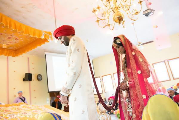 Getting ready in Kansas City, MO Sikh Wedding by Mojica