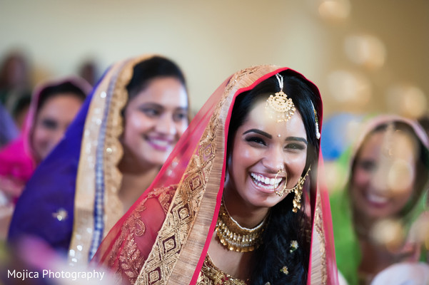 Ceremony in Kansas City, MO Sikh Wedding by Mojica Photography