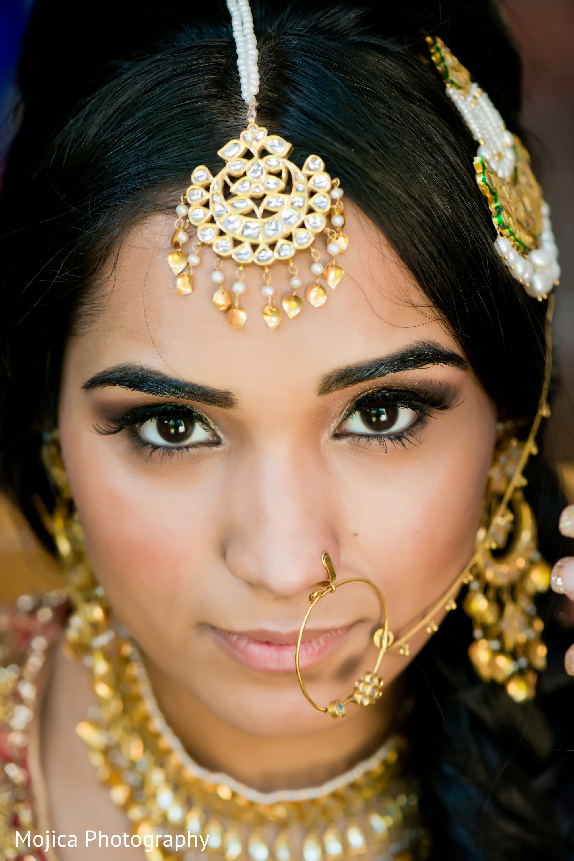 Reception portraits in Kansas City, MO Sikh Wedding by