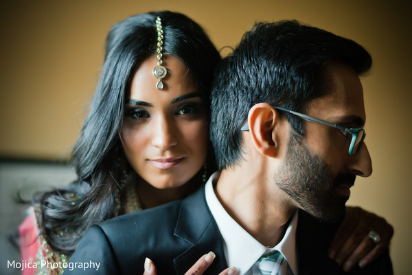 Reception portraits in Kansas City, MO Sikh Wedding by Mojica Photography