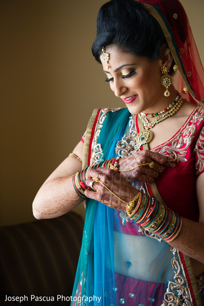 Getting ready in Livemore, CA Indian Wedding by Joseph Pascua Photography