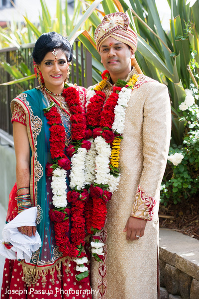 Wedding portraits in Livemore, CA Indian Wedding by Joseph Pascua Photography