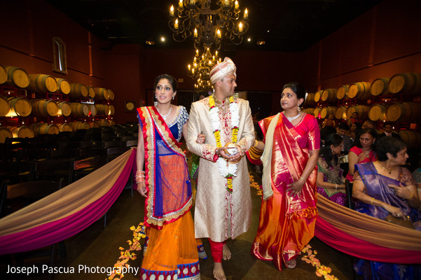 Ceremony in Livemore, CA Indian Wedding by Joseph Pascua Photography