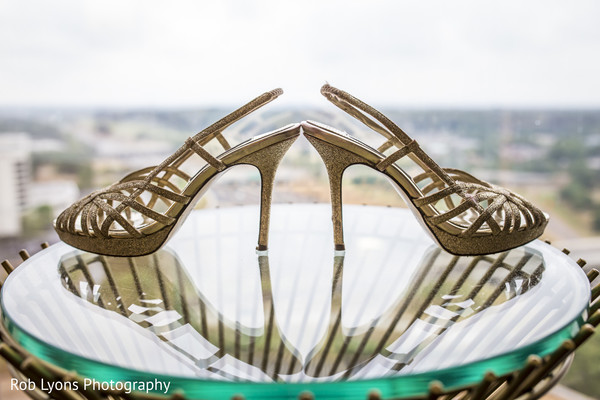 Shoes in Memphis, TN Indian Wedding by Rob Lyons Photography
