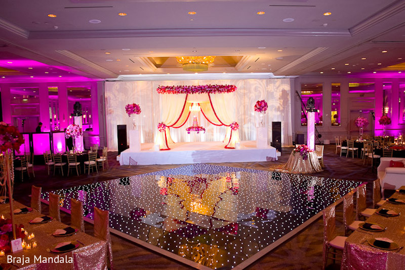 Reception Decor In Birmingham AL Indian Wedding By Braja Mandala Photography