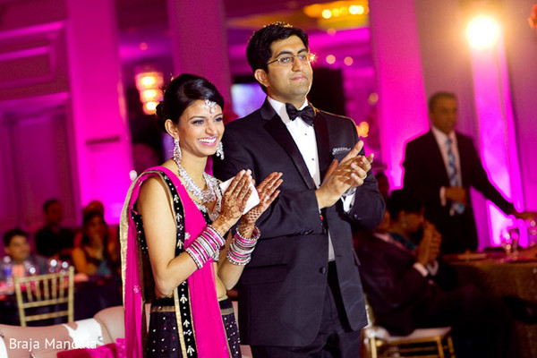 Reception in Birmingham, AL Indian Wedding by Braja Mandala Wedding Photography