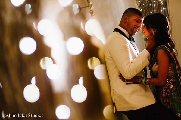 Reception portraits in Prospect, CT Indian Wedding by Jashim Jalal Studios