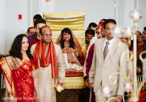 Ceremony in Prospect, CT Indian Wedding by Jashim Jalal Studios