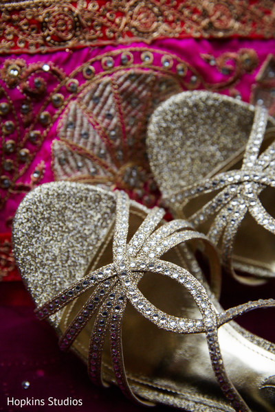 Shoes in Charlottesville, VA Indian Fusion Wedding by Hopkins Studios