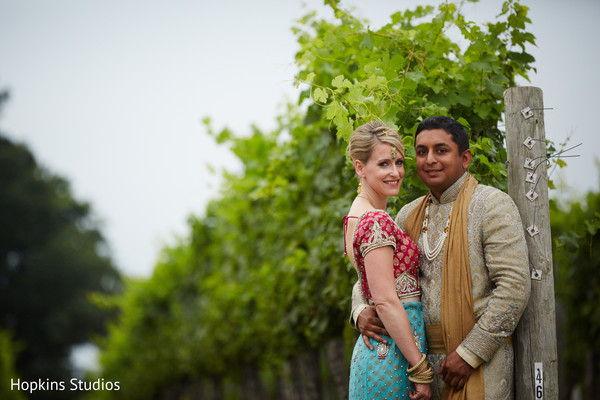 Wedding portraits in Charlottesville, VA Indian Fusion Wedding by Hopkins Studios