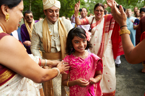 Baraat in Charlottesville, VA Indian Fusion Wedding by Hopkins Studios