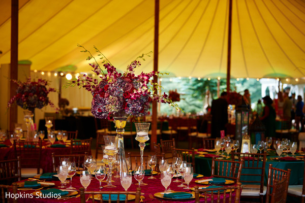 Floral & Decor in Charlottesville, VA Indian Fusion Wedding by Hopkins Studios