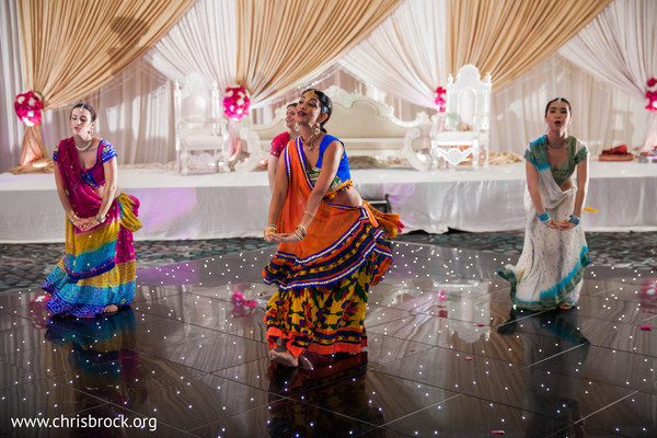 Ceremony in Atlanta, GA Indian Wedding by Christopher Brock Photography