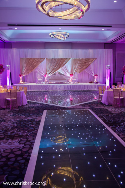 Reception in Atlanta, GA Indian Wedding by Christopher Brock Photography
