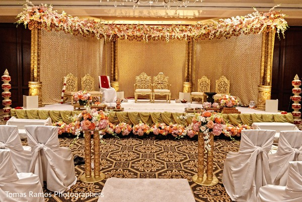 Floral & Decor in Houston, TX Indian Fusion Wedding by Tomas Ramos Photographers