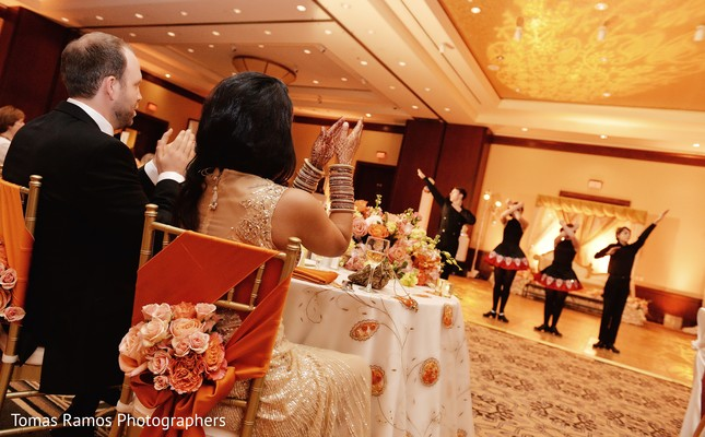 Reception in Houston, TX Indian Fusion Wedding by Tomas Ramos Photographers