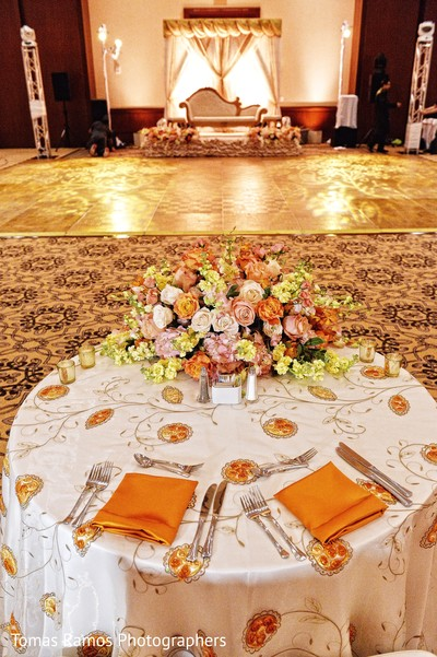 Floral decor in houston tx indian fusion wedding by for Decor 77005