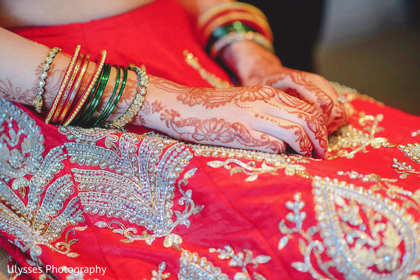 Getting Ready in Colts Neck, NJ Indian Wedding by Ulysses Photography