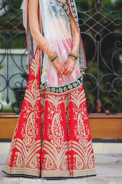 Bridal Fashion in Colts Neck, NJ Indian Wedding by Ulysses Photography
