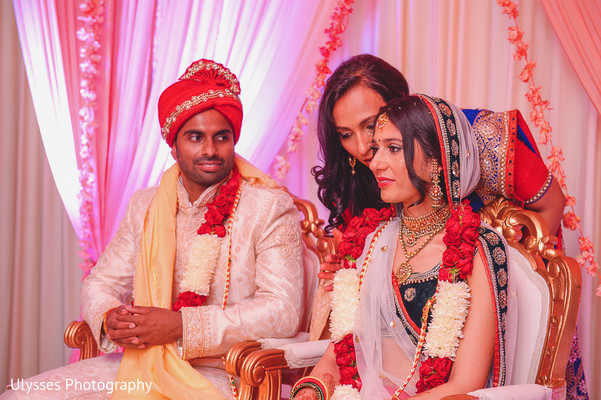 Ceremony in Colts Neck, NJ Indian Wedding by Ulysses Photography