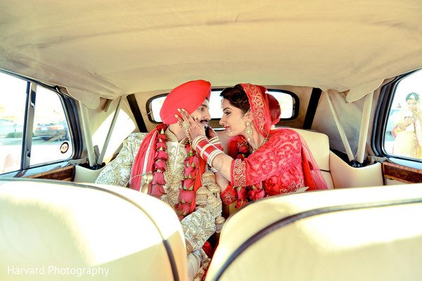 Portraits in Los Angeles, CA Sikh Wedding by Harvard Photography