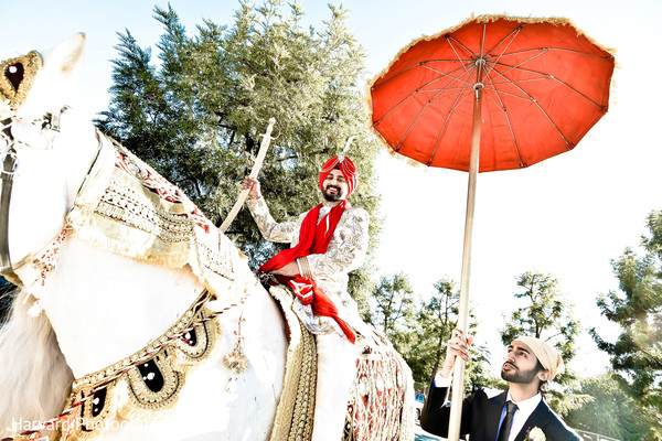 Baraat in Los Angeles, CA Sikh Wedding by Harvard Photography