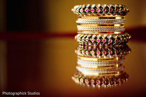 Bridal Jewelry in Potomac, MD Fusion Wedding by Photographick Studios