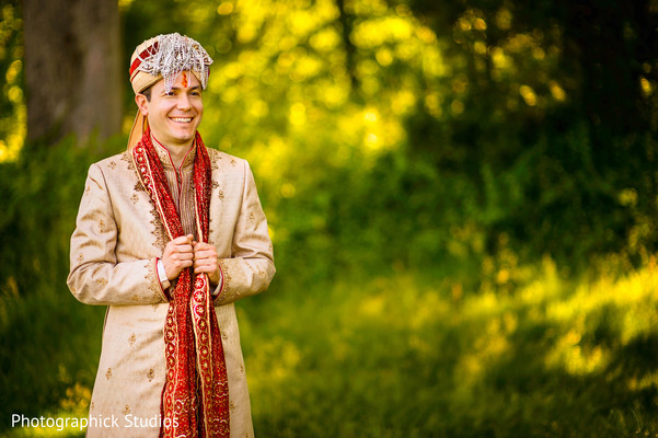 Portraits in Potomac, MD Fusion Wedding by Photographick Studios
