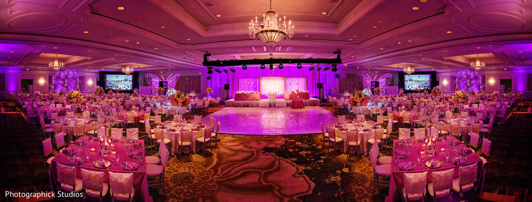 Reception in Potomac, MD Fusion Wedding by Photographick Studios