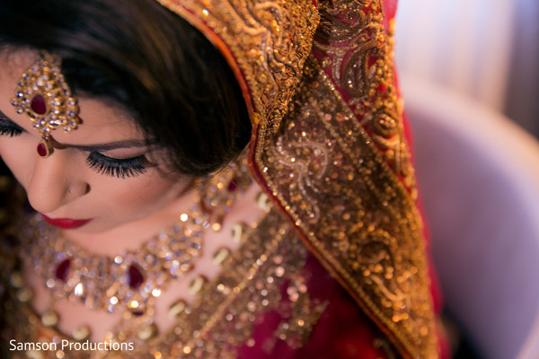 Getting Ready in San Diego, CA Indian Wedding by Samson Productions