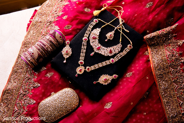 Bridal Jewelry in San Diego, CA Indian Wedding by Samson Productions