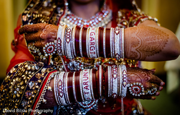 Bangles in Sacramento, CA Sikh Wedding by Dawid Bilski Photography