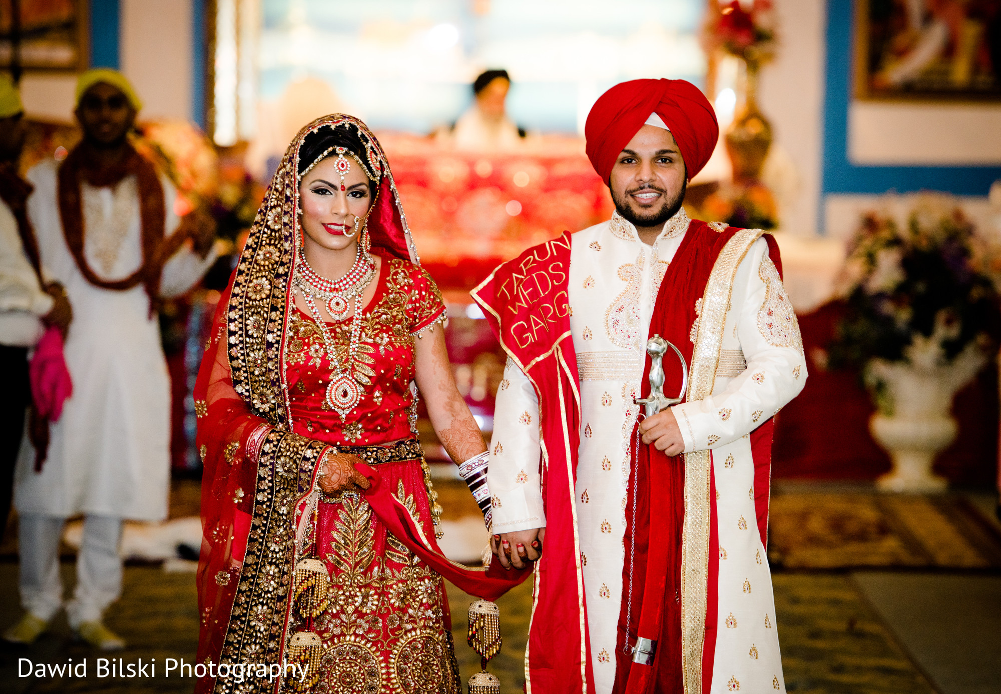 Ceremony In Sacramento Ca Sikh Wedding By Dawid Bilski