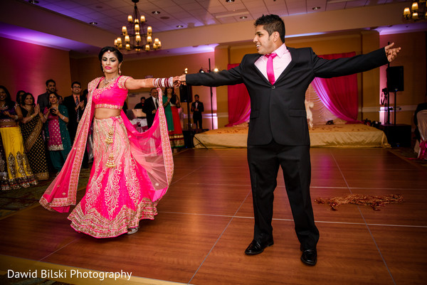 Reception in Sacramento, CA Sikh Wedding by Dawid Bilski Photography