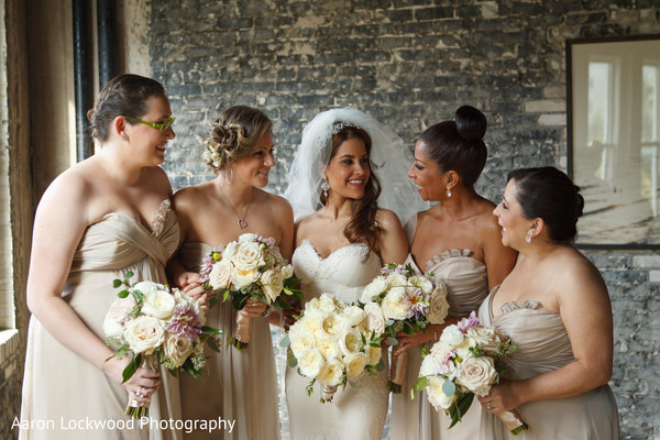 Potraits in Tampa, FL Indian Fusion Wedding by Aaron Lockwood Photography