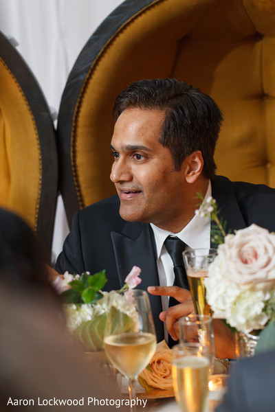 Reception in Tampa, FL Indian Fusion Wedding by Aaron Lockwood Photography