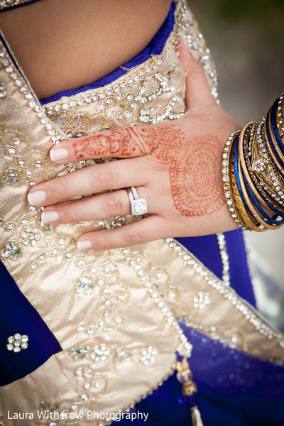 Photo in Chicago, IL Indian Fusion Wedding by Laura Witherow Photography